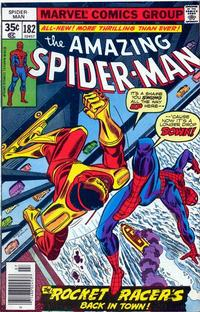 Cover for The Amazing Spider-Man (Marvel, 1963 series) #182