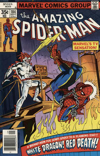 Cover Thumbnail for The Amazing Spider-Man (Marvel, 1963 series) #184 [Newsstand Edition]