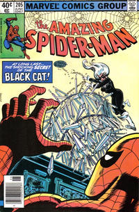 Cover Thumbnail for The Amazing Spider-Man (Marvel, 1963 series) #205 [Newsstand Edition]