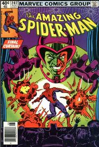 Cover Thumbnail for The Amazing Spider-Man (Marvel, 1963 series) #207 [Newsstand Edition]