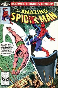 Cover Thumbnail for The Amazing Spider-Man (Marvel, 1963 series) #211 [Direct Edition]