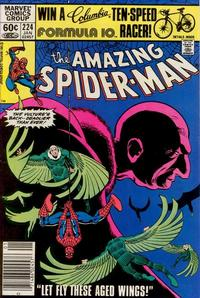 Cover Thumbnail for The Amazing Spider-Man (Marvel, 1963 series) #224 [Newsstand]