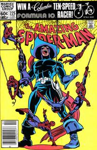 Cover Thumbnail for The Amazing Spider-Man (Marvel, 1963 series) #225 [Newsstand Edition]