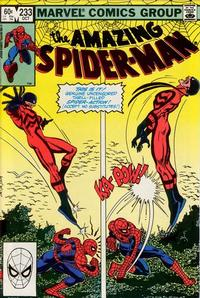 Cover Thumbnail for The Amazing Spider-Man (Marvel, 1963 series) #233 [Direct Edition]