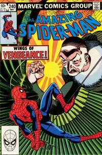 Cover Thumbnail for The Amazing Spider-Man (Marvel, 1963 series) #240 [Direct Edition]