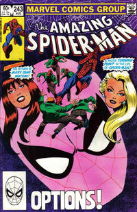 Cover Thumbnail for The Amazing Spider-Man (Marvel, 1963 series) #243 [Direct Edition]