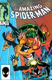 Cover Thumbnail for The Amazing Spider-Man (Marvel, 1963 series) #257 [Direct Edition]