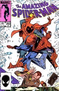 Cover Thumbnail for The Amazing Spider-Man (Marvel, 1963 series) #260 [Direct]
