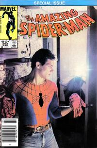 Cover Thumbnail for The Amazing Spider-Man (Marvel, 1963 series) #262 [Newsstand]