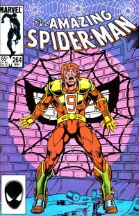 Cover Thumbnail for The Amazing Spider-Man (Marvel, 1963 series) #264 [Direct Edition]