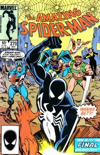 Cover Thumbnail for The Amazing Spider-Man (Marvel, 1963 series) #270 [Direct]