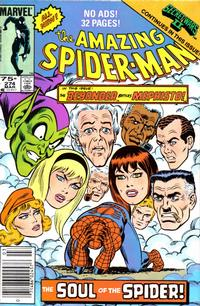 Cover Thumbnail for The Amazing Spider-Man (Marvel, 1963 series) #274 [Newsstand Edition]