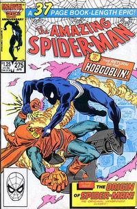 Cover Thumbnail for The Amazing Spider-Man (Marvel, 1963 series) #275 [Direct Edition]