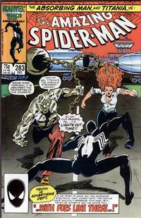 Cover Thumbnail for The Amazing Spider-Man (Marvel, 1963 series) #283 [Direct Edition]