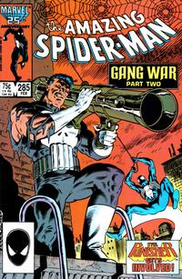 Cover Thumbnail for The Amazing Spider-Man (Marvel, 1963 series) #285 [Direct Edition]