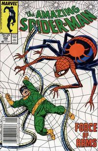 Cover Thumbnail for The Amazing Spider-Man (Marvel, 1963 series) #296 [Newsstand]