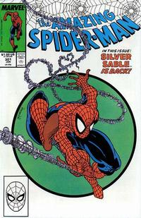 Cover for The Amazing Spider-Man (Marvel, 1963 series) #301 [Direct Edition]