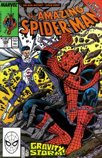 Cover for The Amazing Spider-Man (Marvel, 1963 series) #326 [Direct Edition]