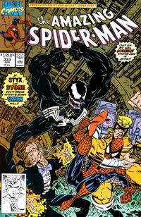 Cover Thumbnail for The Amazing Spider-Man (Marvel, 1963 series) #333 [Direct]