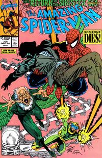 Cover Thumbnail for The Amazing Spider-Man (Marvel, 1963 series) #336 [Direct Edition]