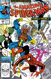 Cover Thumbnail for The Amazing Spider-Man (Marvel, 1963 series) #340 [Direct Edition]