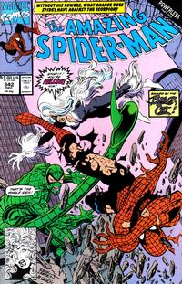 Cover for The Amazing Spider-Man (Marvel, 1963 series) #342 [Direct Edition]