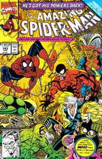 Cover Thumbnail for The Amazing Spider-Man (Marvel, 1963 series) #343 [Direct Edition]