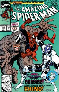 Cover Thumbnail for The Amazing Spider-Man (Marvel, 1963 series) #344 [Direct Edition]