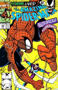Cover Thumbnail for The Amazing Spider-Man (Marvel, 1963 series) #345 [Direct]