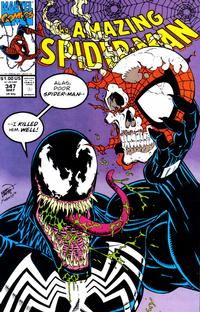 Cover Thumbnail for The Amazing Spider-Man (Marvel, 1963 series) #347 [Direct Edition]