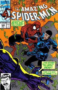 Cover Thumbnail for The Amazing Spider-Man (Marvel, 1963 series) #349 [Direct Edition]