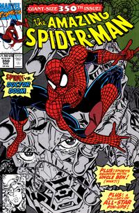 Cover Thumbnail for The Amazing Spider-Man (Marvel, 1963 series) #350 [Direct Edition]