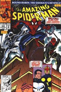 Cover for The Amazing Spider-Man (Marvel, 1963 series) #356 [Direct Edition]