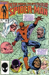 Cover Thumbnail for The Spectacular Spider-Man (Marvel, 1976 series) #96 [Direct Edition]