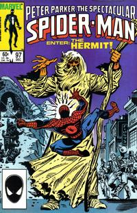 Cover Thumbnail for The Spectacular Spider-Man (Marvel, 1976 series) #97 [Direct Edition]