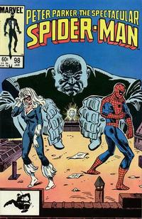 Cover Thumbnail for The Spectacular Spider-Man (Marvel, 1976 series) #98 [direct]