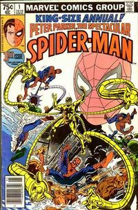 Cover Thumbnail for The Spectacular Spider-Man Annual (Marvel, 1979 series) #1