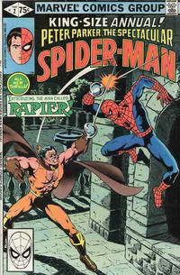 Cover Thumbnail for The Spectacular Spider-Man Annual (Marvel, 1979 series) #2