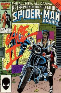 Cover Thumbnail for The Spectacular Spider-Man Annual (Marvel, 1979 series) #6 [direct]