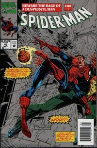 Cover Thumbnail for Spider-Man (Marvel, 1990 series) #46 [Silver Newsstand Edition]