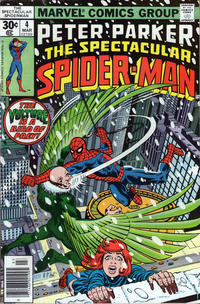 Cover for The Spectacular Spider-Man (Marvel, 1976 series) #4
