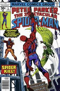 Cover Thumbnail for The Spectacular Spider-Man (Marvel, 1976 series) #5