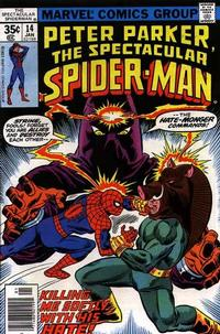 Cover Thumbnail for The Spectacular Spider-Man (Marvel, 1976 series) #14