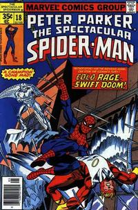 Cover Thumbnail for The Spectacular Spider-Man (Marvel, 1976 series) #18 [Regular Edition]