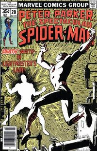 Cover Thumbnail for The Spectacular Spider-Man (Marvel, 1976 series) #20