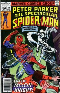 Cover Thumbnail for The Spectacular Spider-Man (Marvel, 1976 series) #22