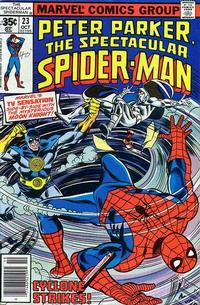 Cover Thumbnail for The Spectacular Spider-Man (Marvel, 1976 series) #23