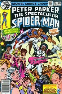 Cover Thumbnail for The Spectacular Spider-Man (Marvel, 1976 series) #24