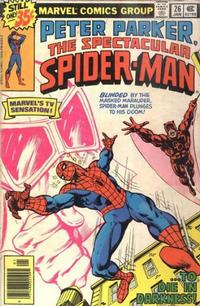 Cover Thumbnail for The Spectacular Spider-Man (Marvel, 1976 series) #26