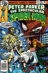 Cover Thumbnail for The Spectacular Spider-Man (Marvel, 1976 series) #28